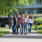 Students on the campus - Catholic University of Eichstätt-Ingolstadt