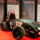Racing car developed by students