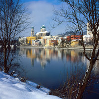 View of St. Stephen's Cathedral in Passau