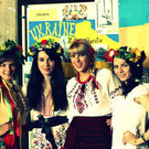Ukraine's stall at International Day