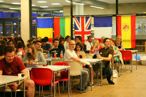 Welcome party for the international students