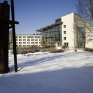 Campus im Winter