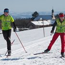 Cross-country skiing around Deggendorf