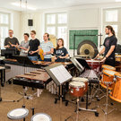 Percussion class, Würzburg University of Music