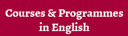 Study in English; Courses and Programmes